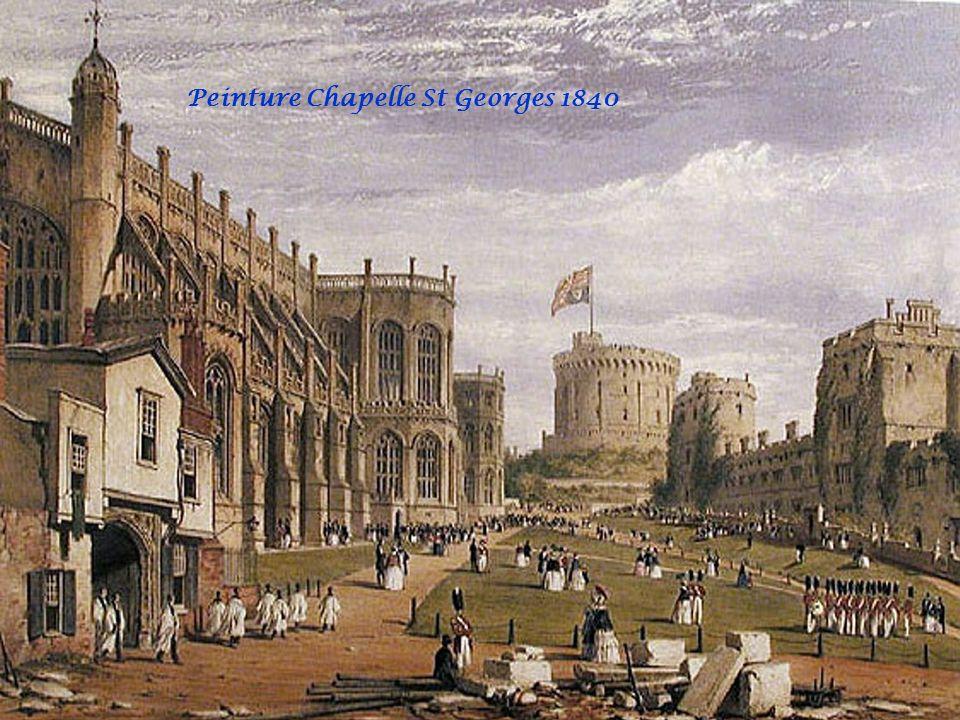 Peinture Chapelle St Georges 1819