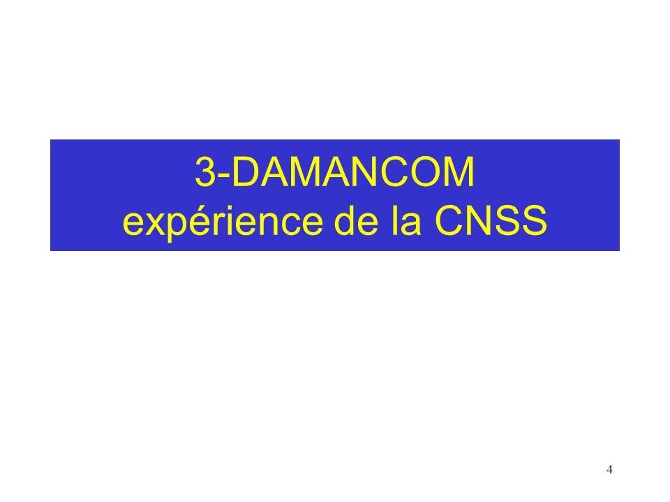 4 3-DAMANCOM expérience de la CNSS