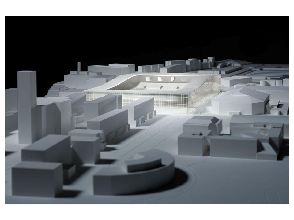 La Maladière 3. Avant-projet architectural – situation actuelle