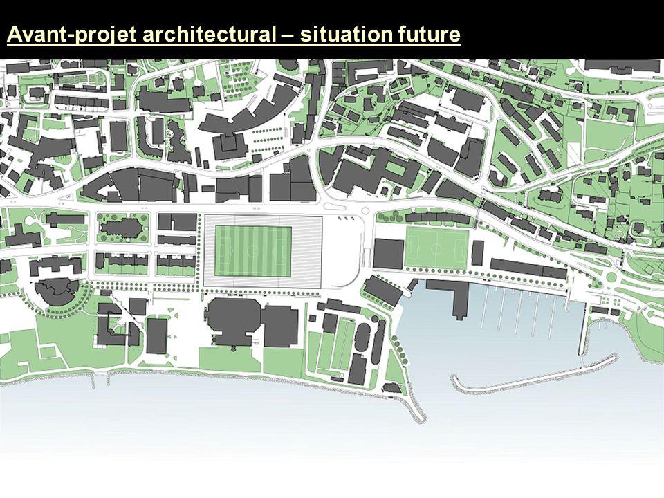 La Maladière Avant-projet architectural – situation future