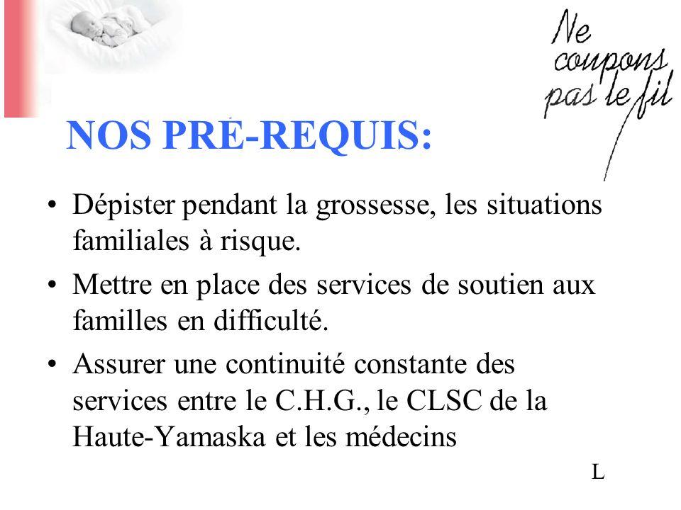 HISTORIQUE DU CONGÉ PRÉCOCE: Comité conjoint CLSC-C.H.G.-Médecins (CAVA) à lautomne 1995.