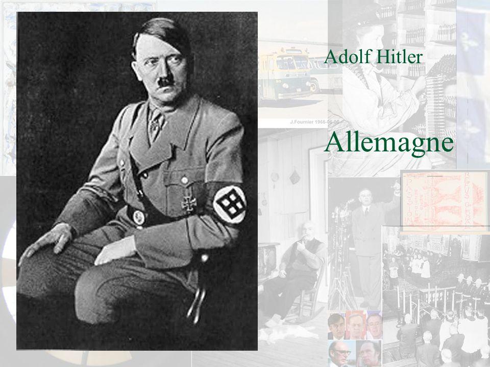 Adolf Hitler Allemagne