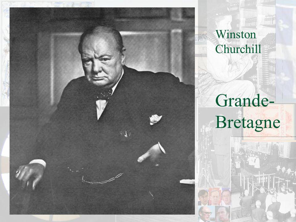 Winston Churchill Grande- Bretagne