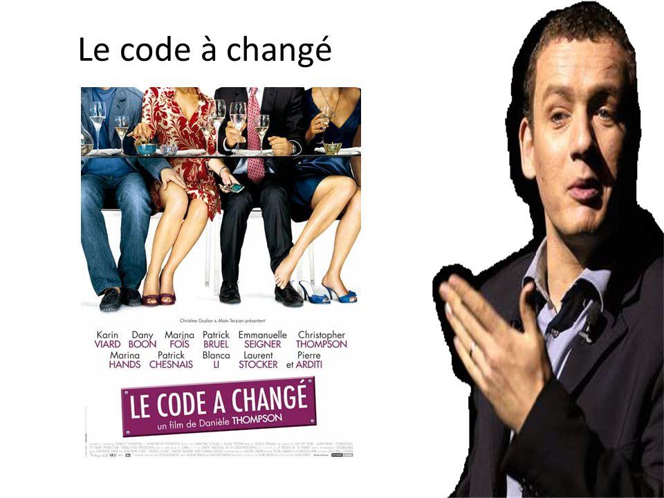 Le code à changé