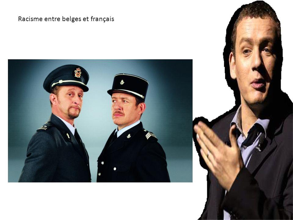 Racisme entre belges et français