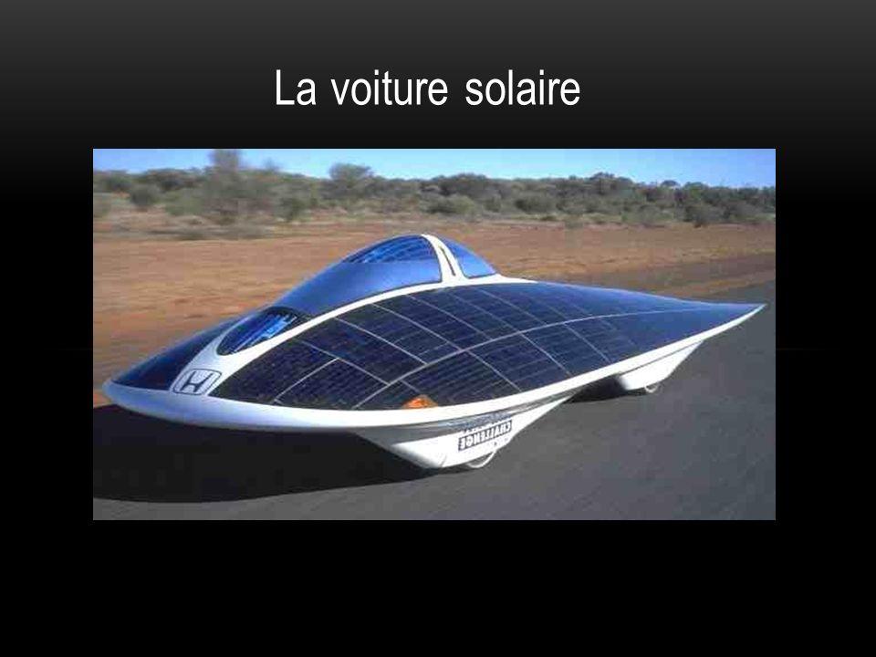 La voiture solaire