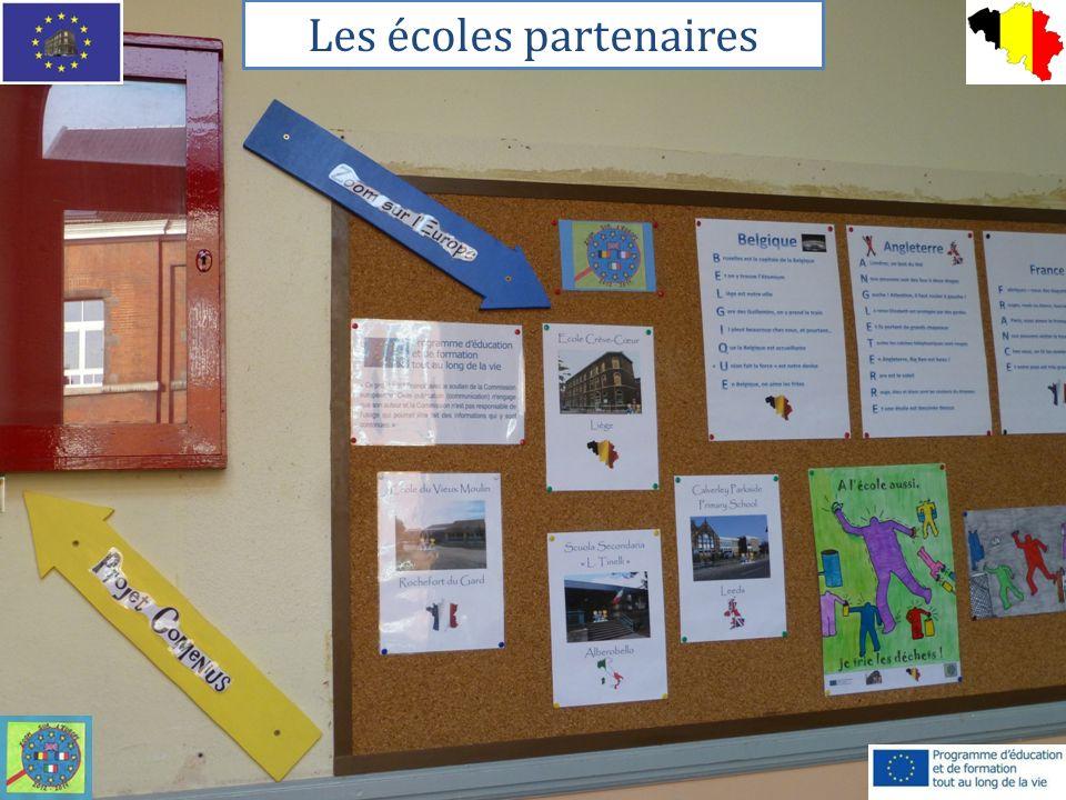 Les écoles partenaires