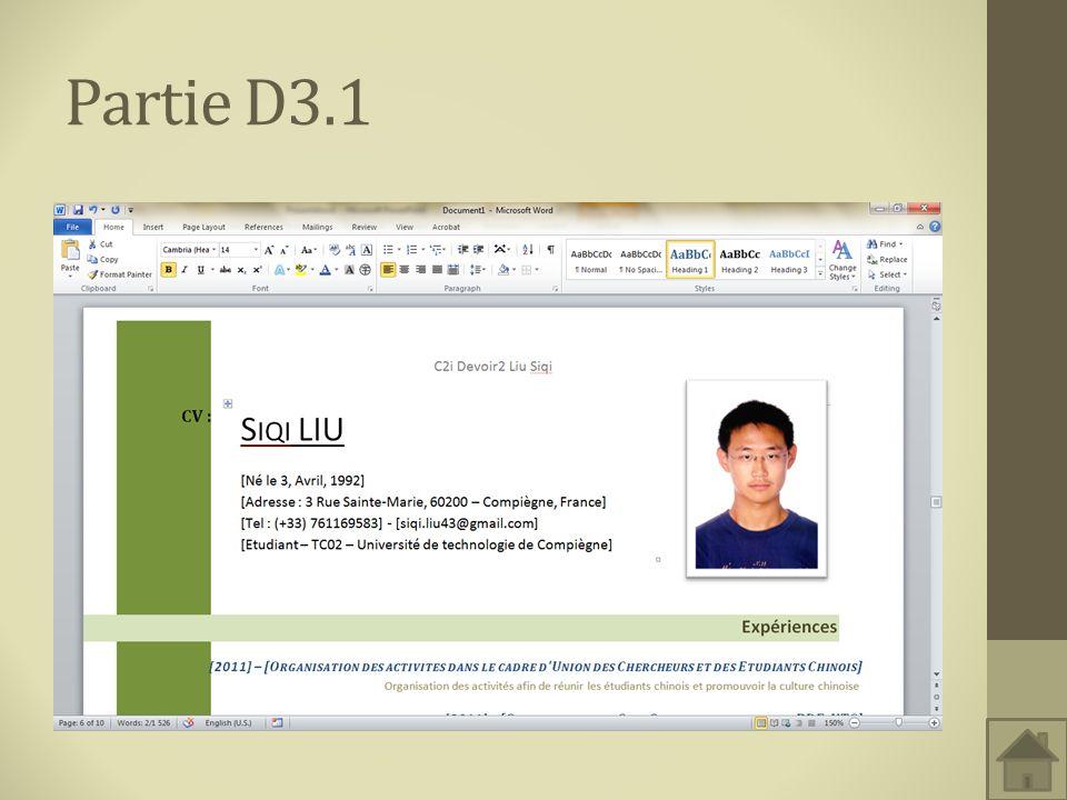 Partie D3.1