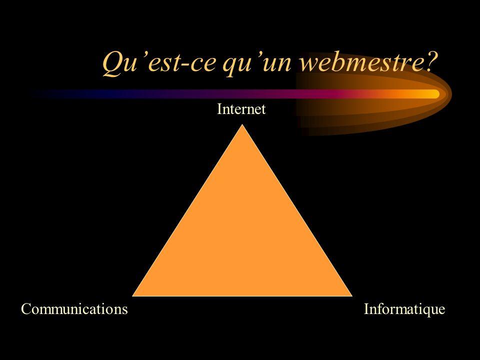 1ère époque : les informaticiens CommunicationsInformatique Internet X