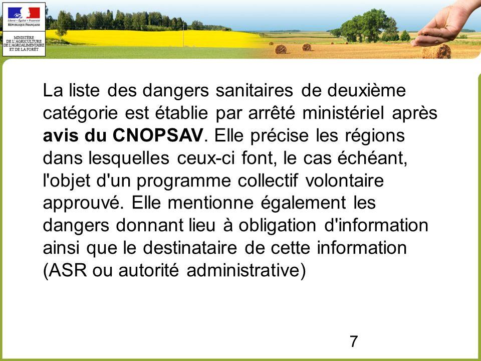 18 Valorisation de l avis n° 390 de l ANSES Ont été classés en 1ère catégorie les dangers sanitaires les plus graves identifiés par l une ou l autre méthode Les maladies zoonotiques ont été classées en catégorie 1 ou 2.