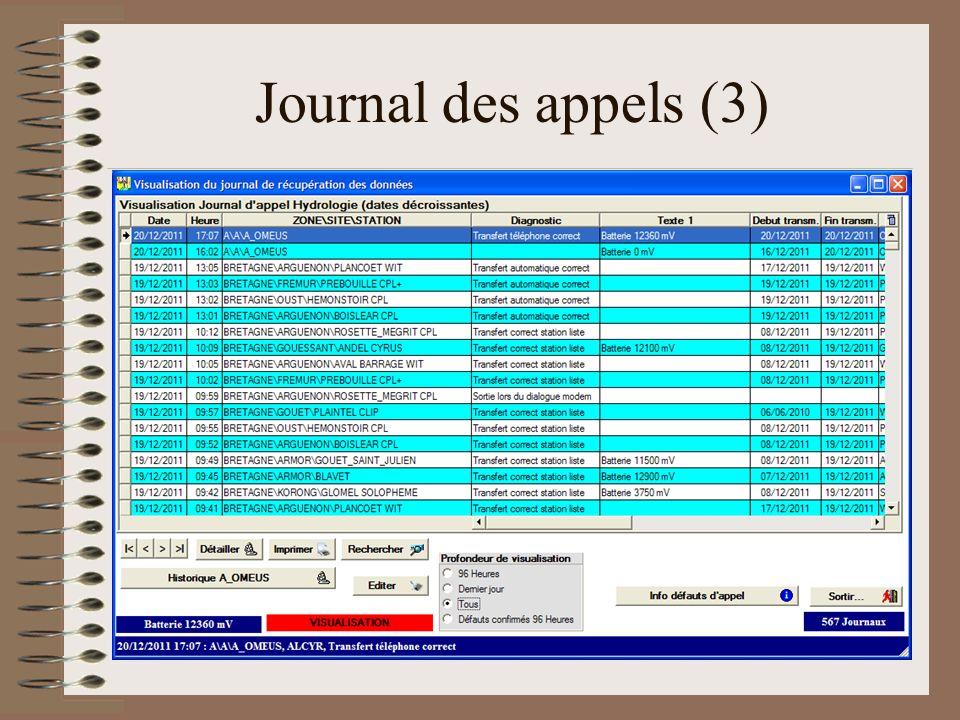 Journal des appels (3)