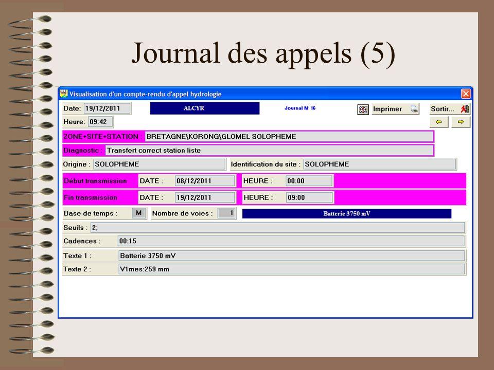 Journal des appels (5)
