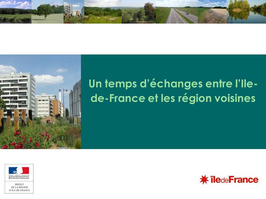 Un temps déchanges entre lIle- de-France et les région voisines