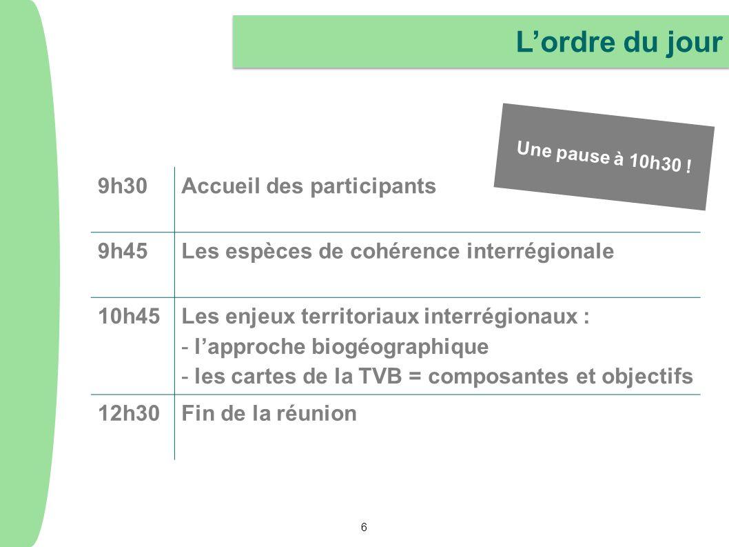 La suite des échanges Lenvoi dun compte-rendu synthétique de nos échanges et la mise à disposition des documents de la réunion sur lextranet du SRCE dIle-de-France : http://extranet.srce-idf.fr Login : accesgeneral Mot de passe : srceidf Lenvoi dun compte-rendu synthétique de nos échanges et la mise à disposition des documents de la réunion sur lextranet du SRCE dIle-de-France : http://extranet.srce-idf.fr Login : accesgeneral Mot de passe : srceidf La possibilité de faire part de vos propositions complémentaires, dici 10 jours, aux adresses suivantes : caroline.vendryes@developpement-durable.gouv.fr helene.colas@iledefrance.fr La possibilité de faire part de vos propositions complémentaires, dici 10 jours, aux adresses suivantes : caroline.vendryes@developpement-durable.gouv.fr helene.colas@iledefrance.fr