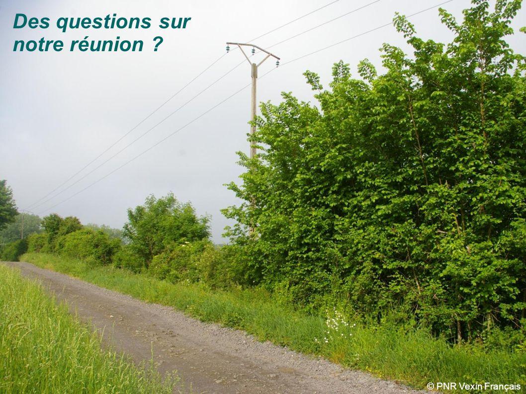 Schéma régional de cohérence écologique Ile-de-France Merci pour votre attention Crédits photo : Florence Monfort, RCT, PNR Vexin français, PNR de la Haute Vallée de Chevreuse, Olivier Marchal (PNR HVC), Conseil régional dIDF