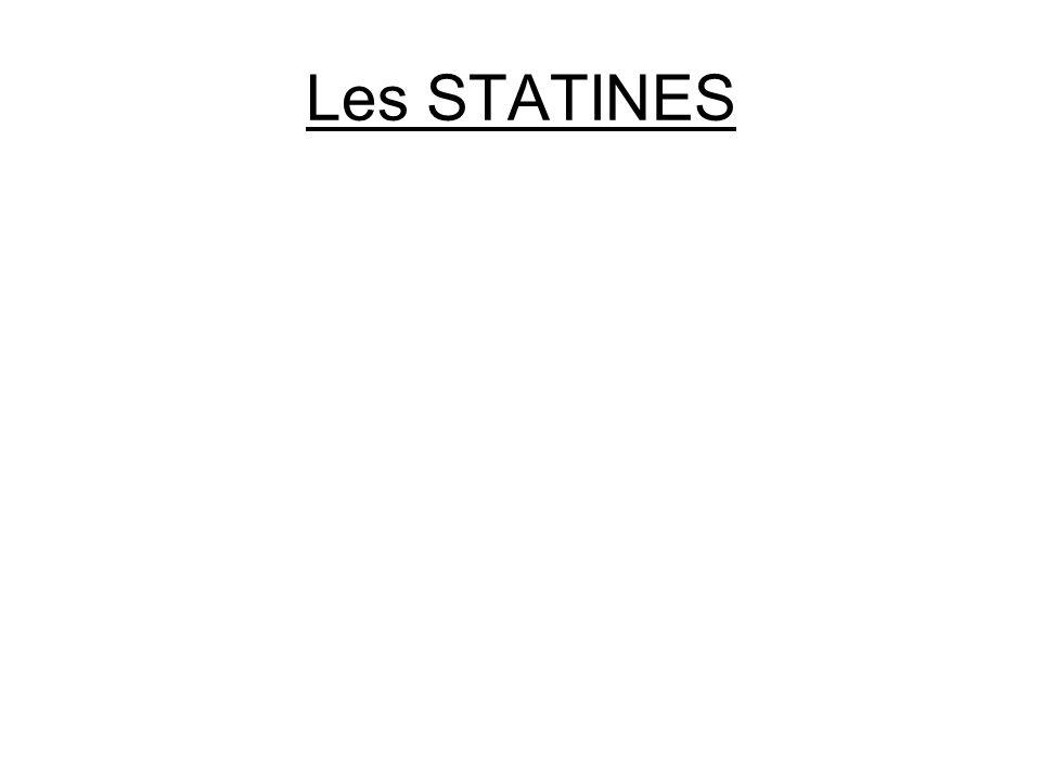 Les STATINES