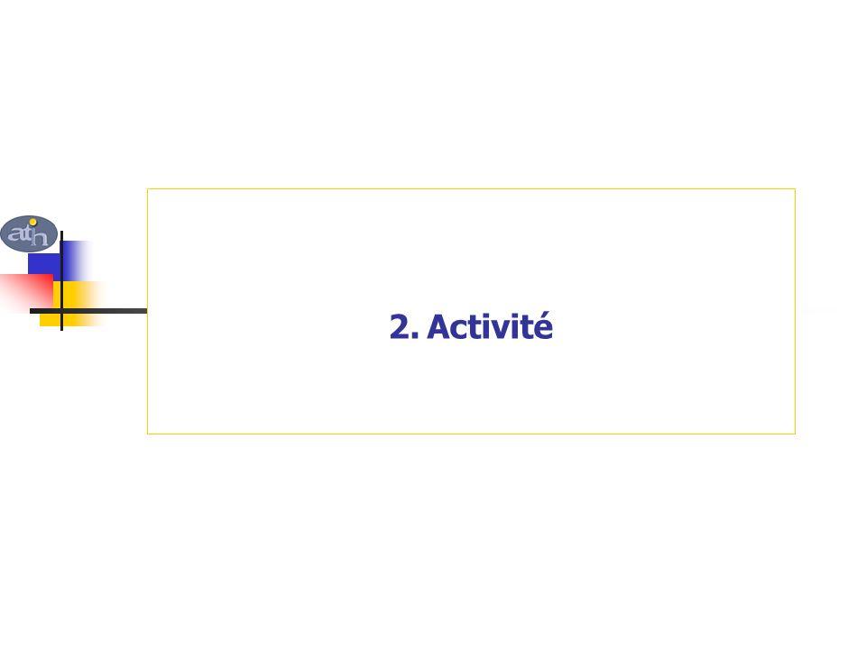 2. Activité