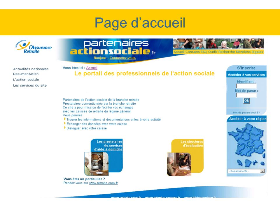 Page daccueil