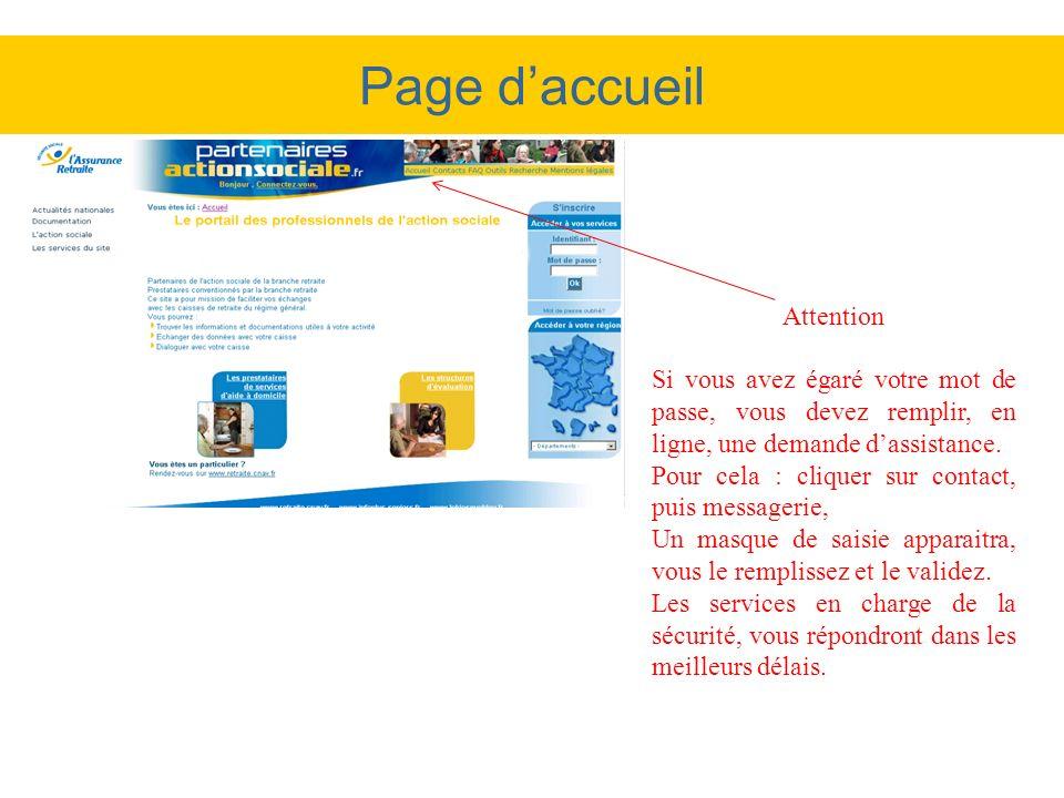 Exemple : message danomalie de report lié à une prise en charge pas encore notifiée