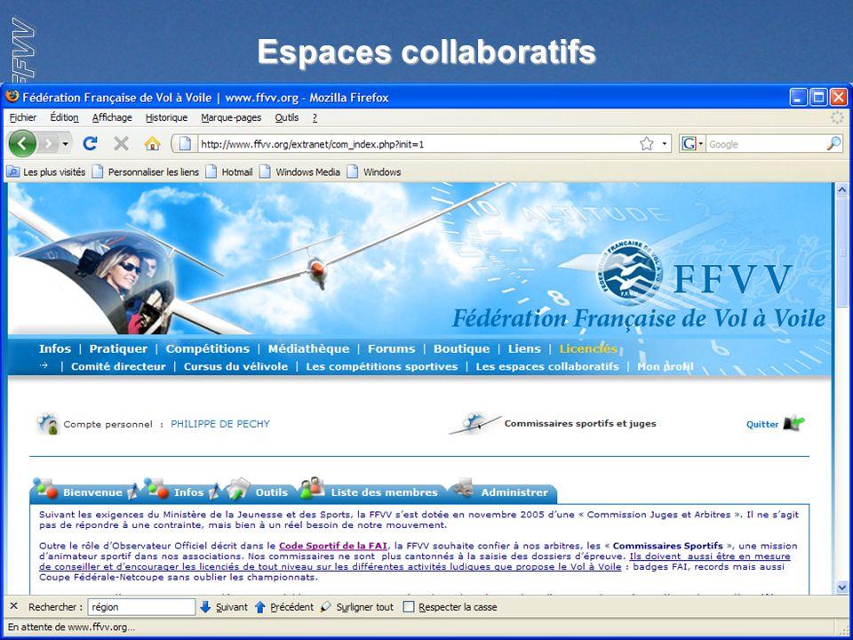 4 Espaces collaboratifs