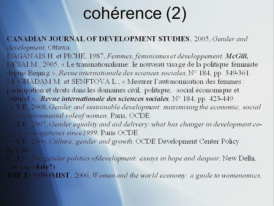 cohérence (2)