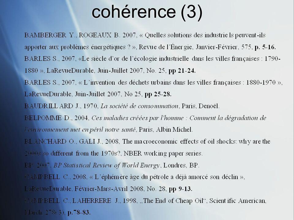 cohérence (3)