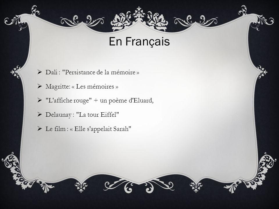 En Français Dali :