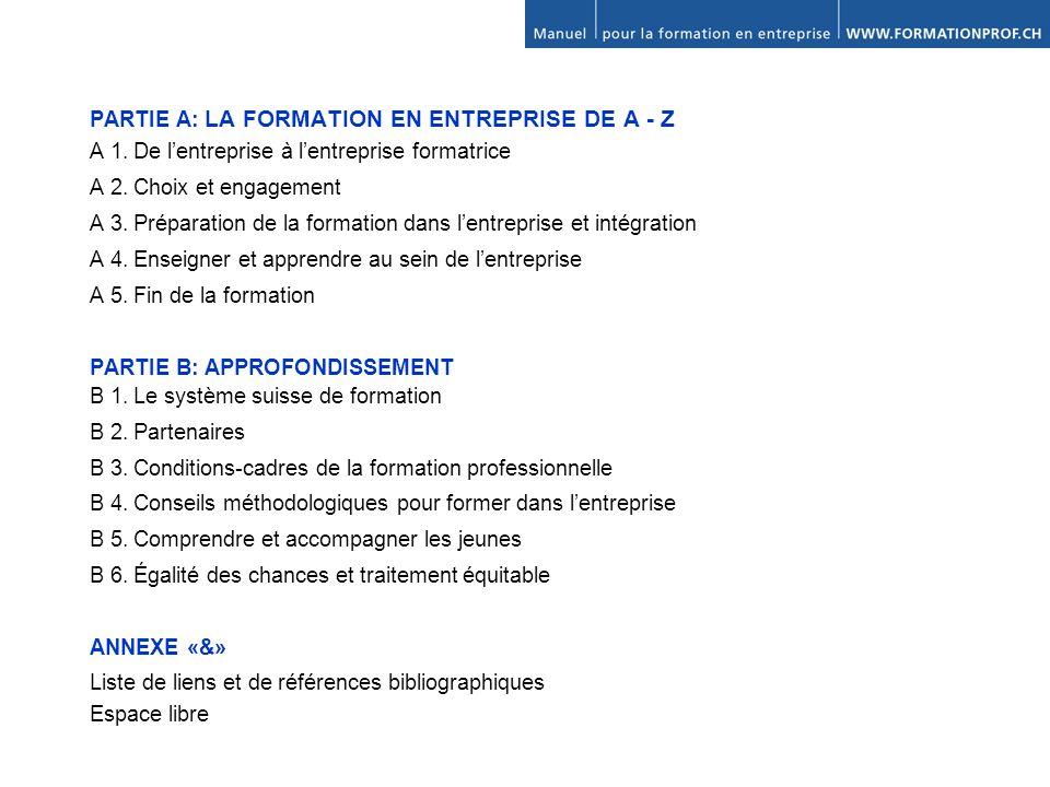 B 4.Conseils méthodologiques pour former dans lentreprise 4.1.