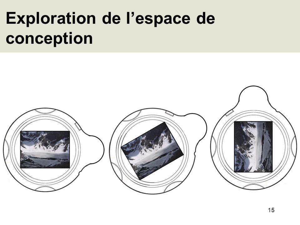 15 Exploration de lespace de conception