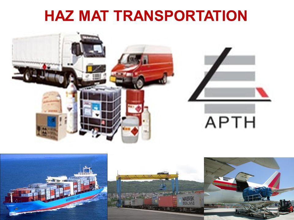 Ontario Logistique et transport international Chapitre 10: Matières dangereuses