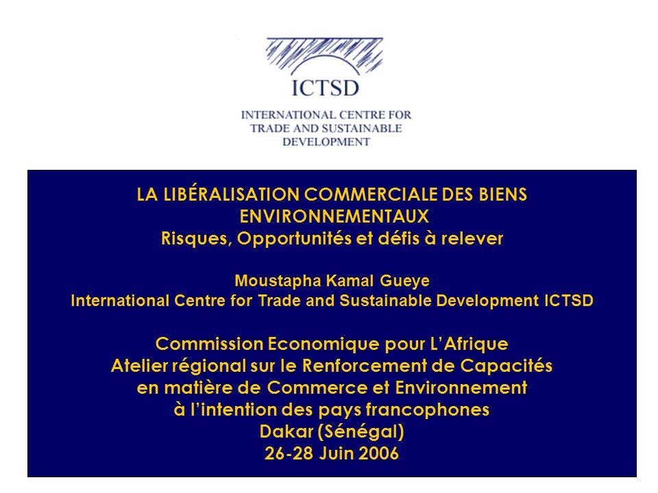 22 Négociations dans le Comité du Commerce e t de lEnvironnement Le CCE dans ses sessions extraordinaires, est le lieu pour définir lapproche à suivre pour la négociation Forum de négociation (2)