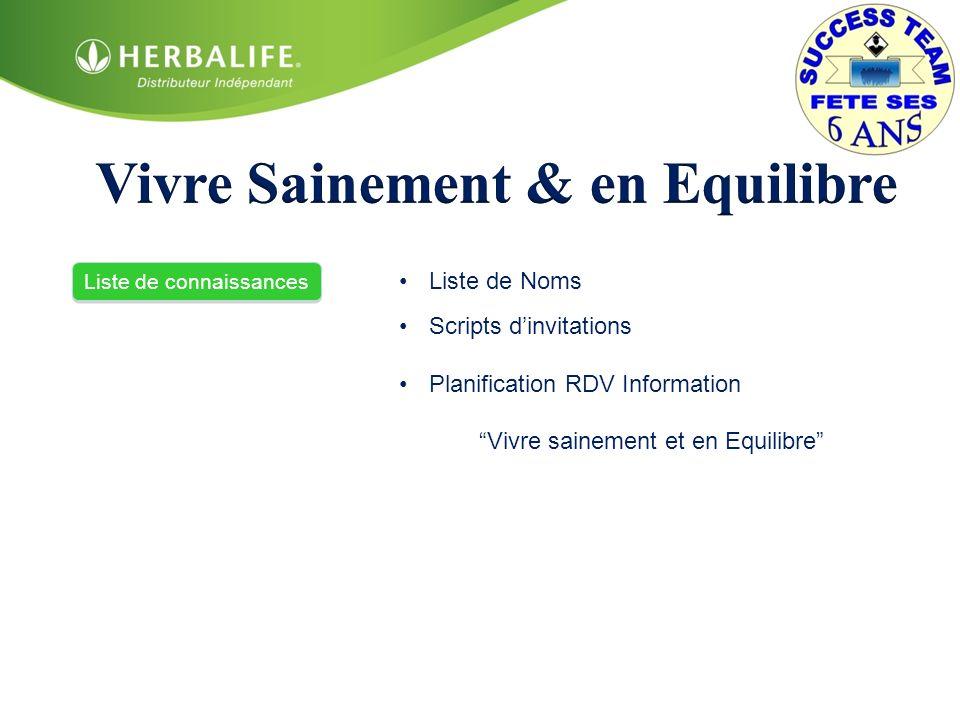 3) Réaliser la présentation Vivre sainement et en équilibre jusquau slide des 3 questions =) utiliser le carton des références Les Etapes de linfo Nutrition pour une meilleure qualité de vie