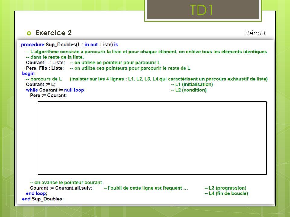 TD1 Exercice 2 itératif