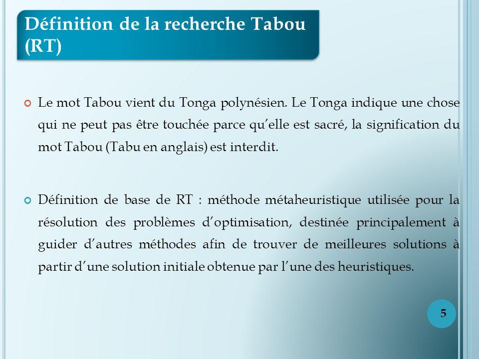 Le mot Tabou vient du Tonga polynésien.