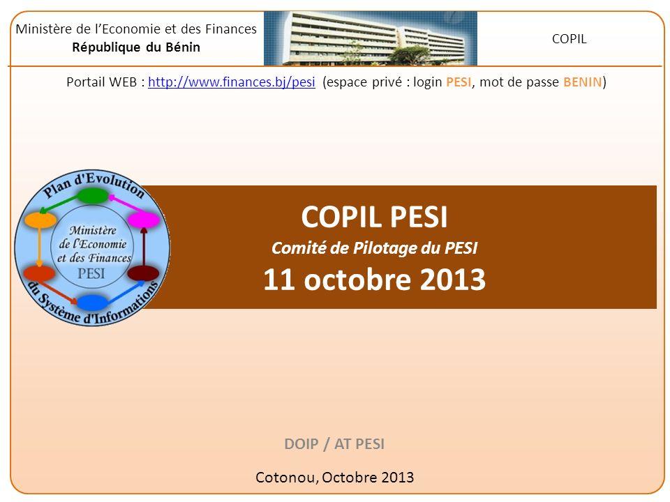 Mise en œuvre du Plan dEvolution du Système dInformation 2011 du MEF Questions / demandes déclaircissements ?