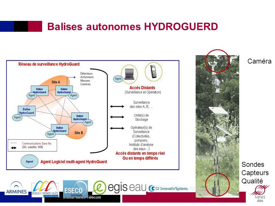 Institut Mines-Télécom Détection Ochratoxine A Norme EU: < 2 ppb Glyphosate/ AMPA OTB Applications industrielles: détection de pesticides et de toxines