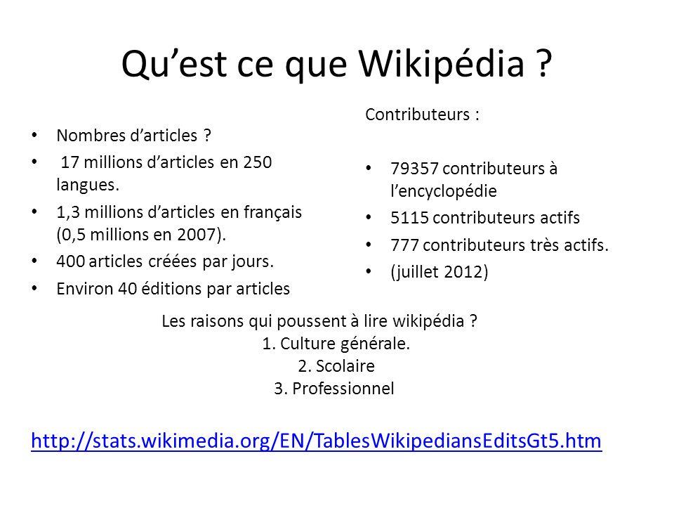 Quest ce que Wikipédia .