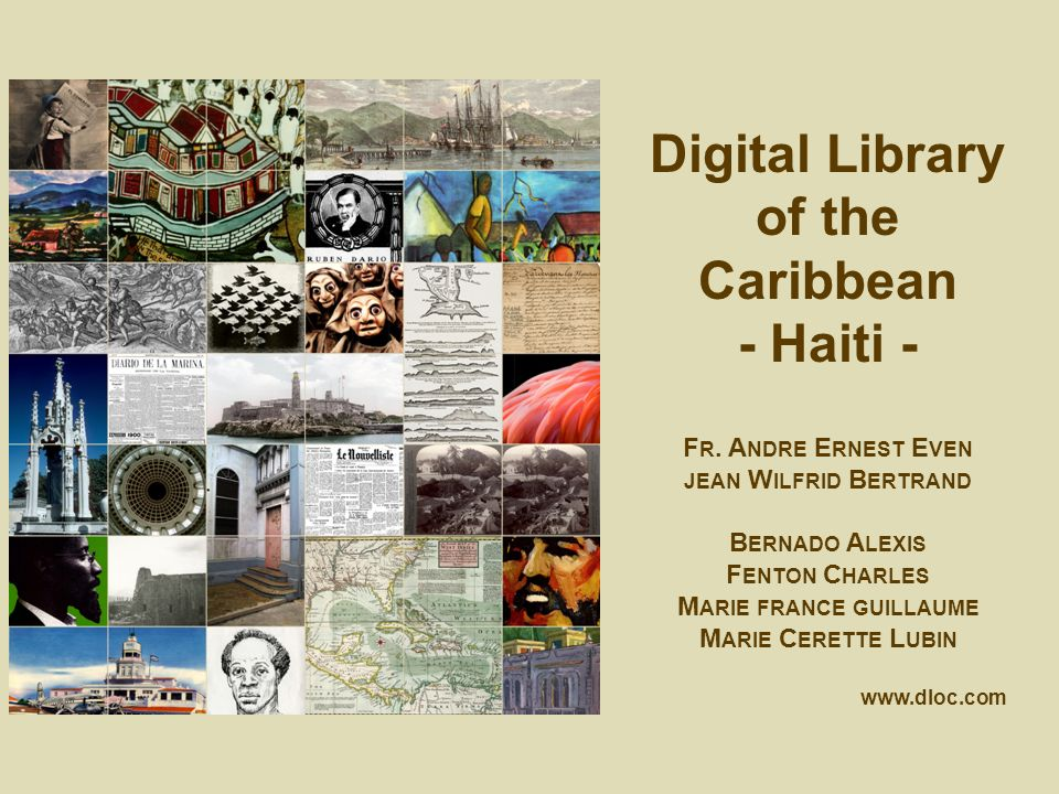 Digital Library of the Caribbean - Haiti - F R.