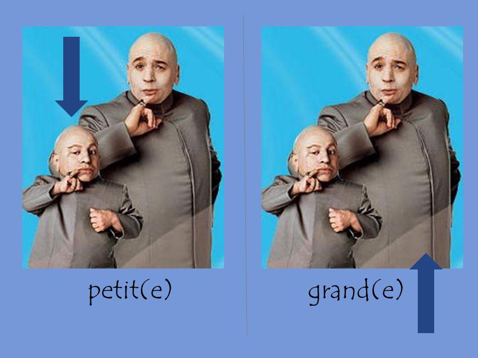 petit(e)grand(e)