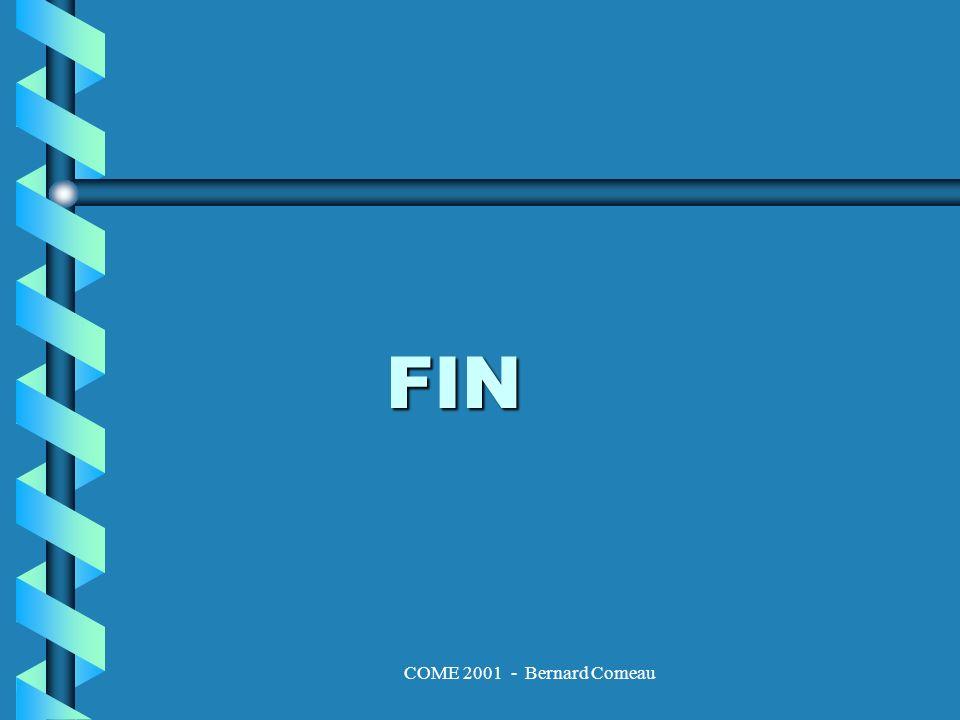 COME 2001 - Bernard Comeau FIN