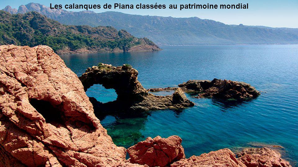 Porto qui s'étend des Calanques de Piana à la réserve de Scandola,...