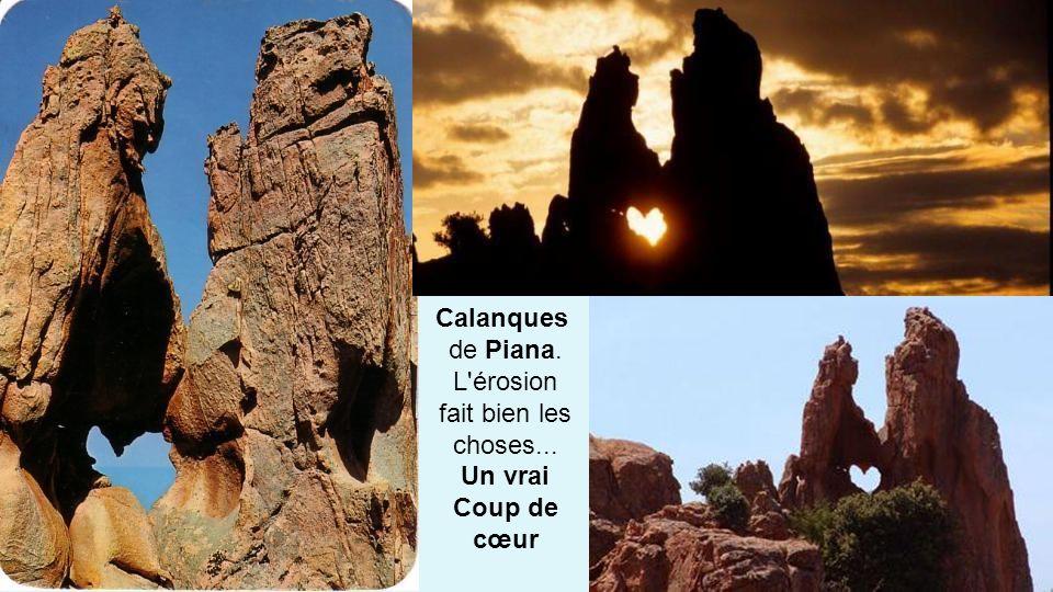 Les calanques de Piana classées au patrimoine mondial