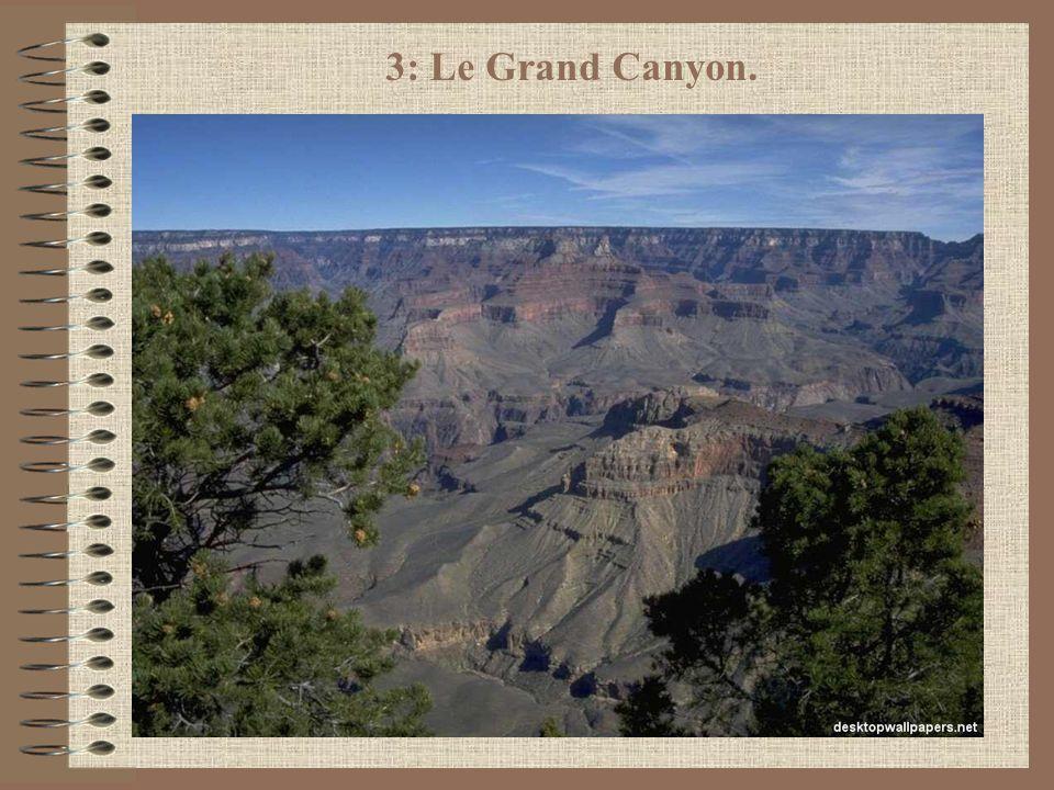 3: Le Grand Canyon.