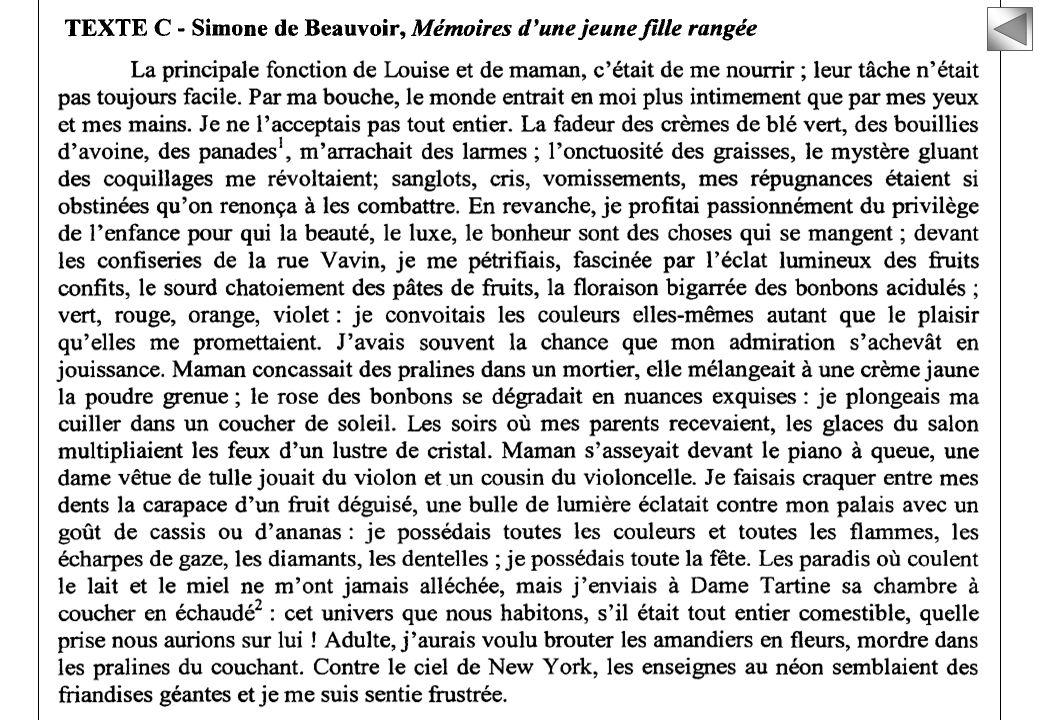 2/2 Bac L > Français > Epreuve anticipée : sujet 2007