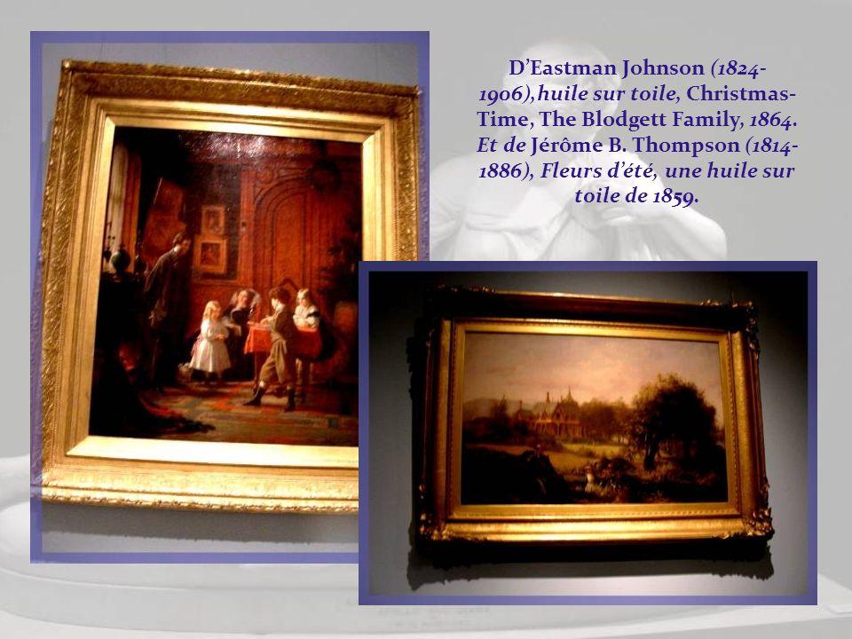 Par Georges P.A. Healy (1813-1894), huile sur toile, portrait dEuphemia White Van Rensselaer. De Thomas Sully (1783-1872), huile sur toile, Mother and