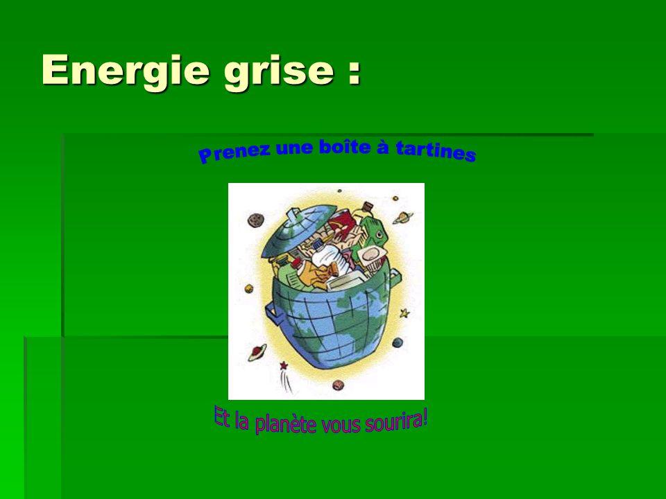 Energie grise :