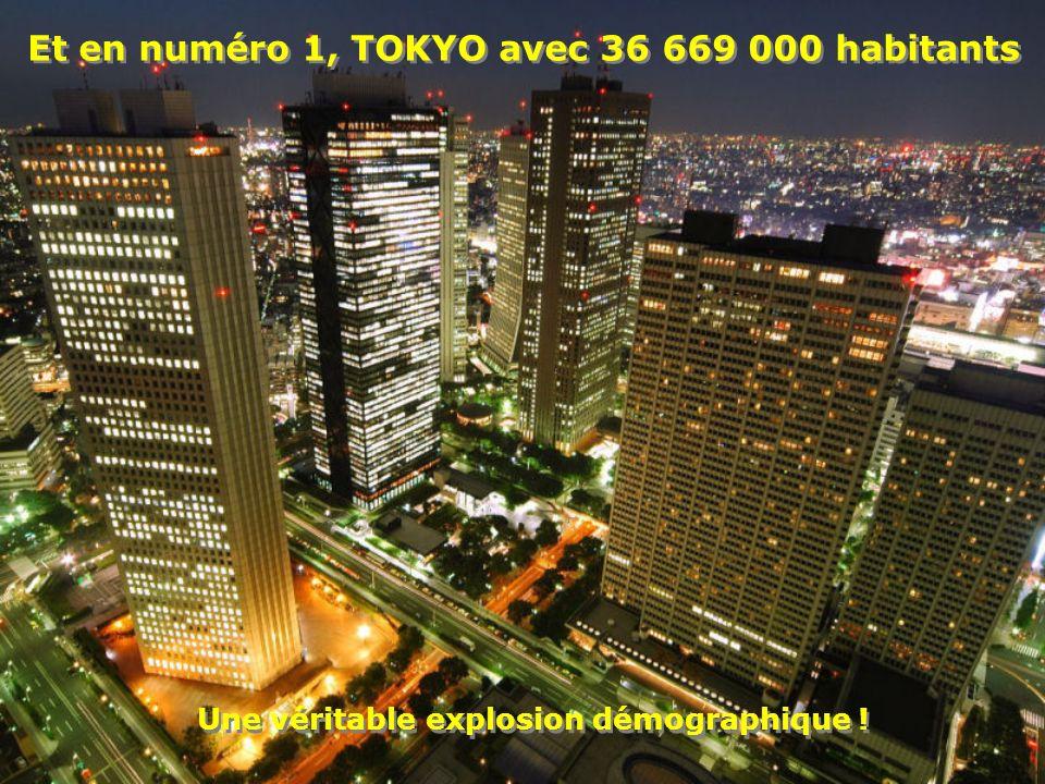 Le numéro 2 est Delhi avec 22 157 000 habitants Le numéro 2 est Delhi avec 22 157 000 habitants LInde compte 1 milliard et 100 000 habitants