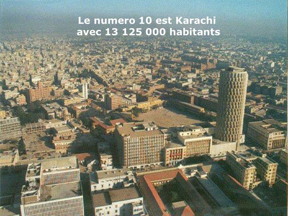 Le numéro 11 est Buenos Aires qui atteint 13 074 000 habitants Le numéro 11 est Buenos Aires qui atteint 13 074 000 habitants