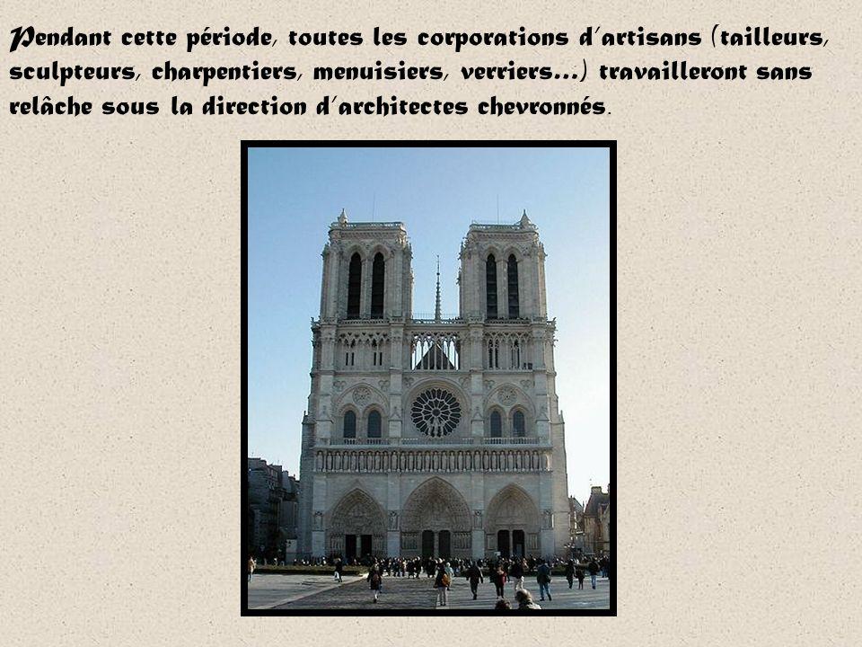 Notre Dame de Paris est très ancienne, elle a plus de 800ans! La construction commence en 1163, Notre-Dame ne sera achevée quun peu plus tard, en 1272