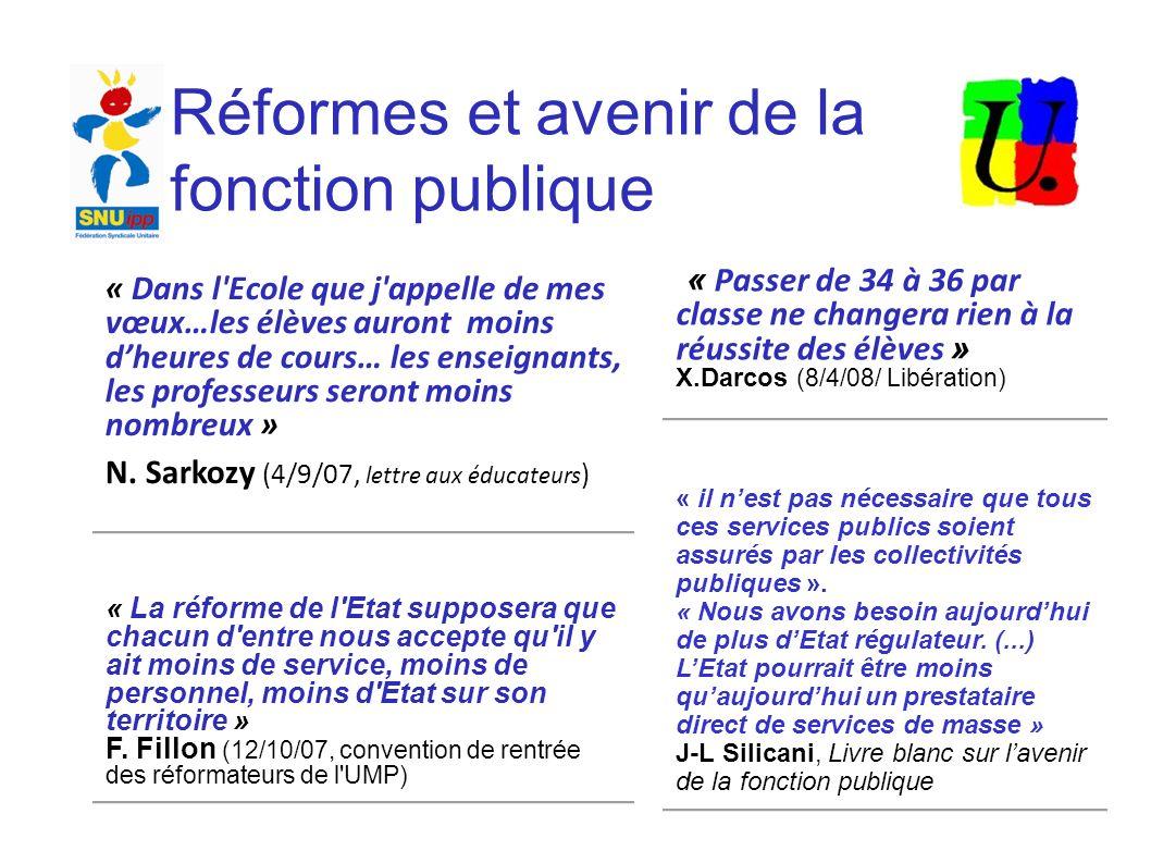 Discours de Nicolas Sarkozy IRA Nantes – 19 septembre 2007 Une fonction publique moins nombreuse, mieux payée, avec de meilleures perspectives de carrière… « Je me suis engagé à ne pas remplacer un fonctionnaire sur deux partant à la retraite.